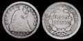 1853 Seated Liberty Silver Half Dime