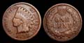 US Indian Head Penny 1892