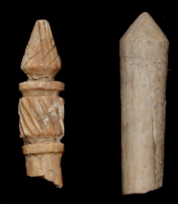 Stylus, Carved Bone Fragments, c.1st-3rd Cent