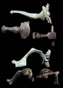 A Variety of 3 Roman Fibulae, c. 1st-2nd Cent AD