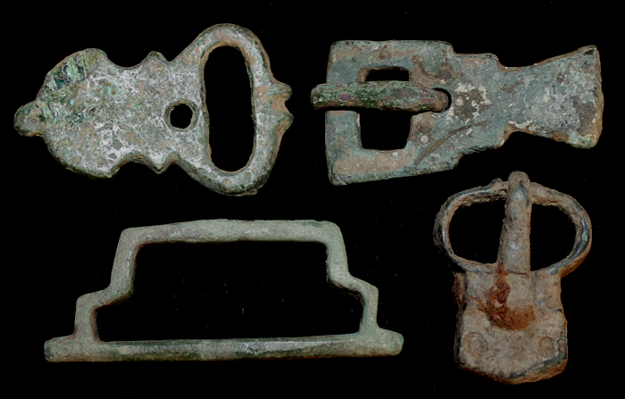 A Quartet of Medieval Buckles