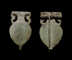 Brooch, Amphora-type, c. 4th Cent AD