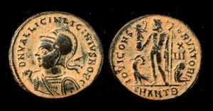 Licinius JR Helmeted Portrait