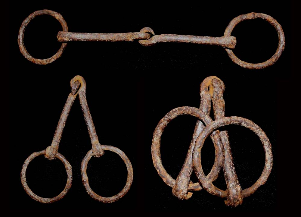 Iron, Bridle Bit, Cavalry, c. 1st-6th Cent