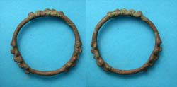 Celtic Proto Ring Money, Large with Multiple Knobs, c. 600-400 BC