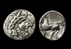 Danube Celts, AR drachm, Superb