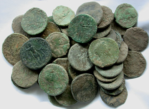 High-grade Large Early Roman Uncleaned Issues