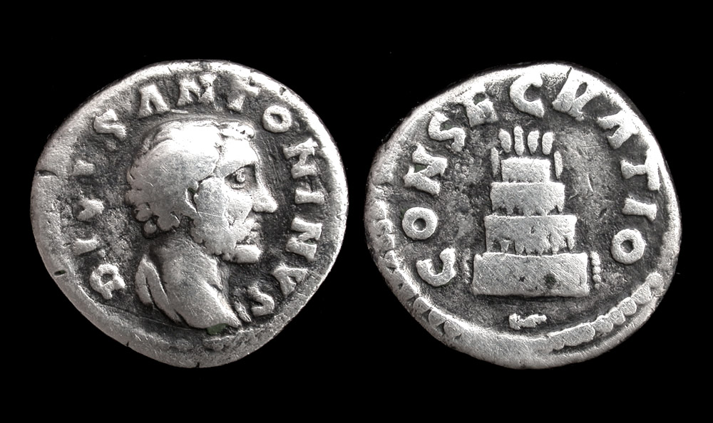 Antoninus Pius, Denarius, Commemorative Issue