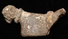 Enigmatic Danubian Celt Lead Duck ca. 1st Cent AD