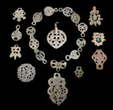 Medieval Jewelry Ensemble Necklace/Bracelet