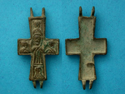 Cross, Reliquary (Engolpion), 15th-16th Century