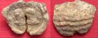 Roman Lead Seal, Confronting busts, 3rd-4th Cent AD