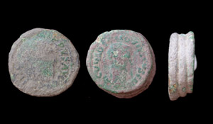 Colonia Viminacium Curiosity, 3 fused coins