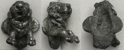 Applique, Leaping Lion, Zoomorphic, c. 2nd Cent AD
