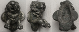 Appilque, Leaping Lion, Zoomorphic, c. 2nd Cent AD