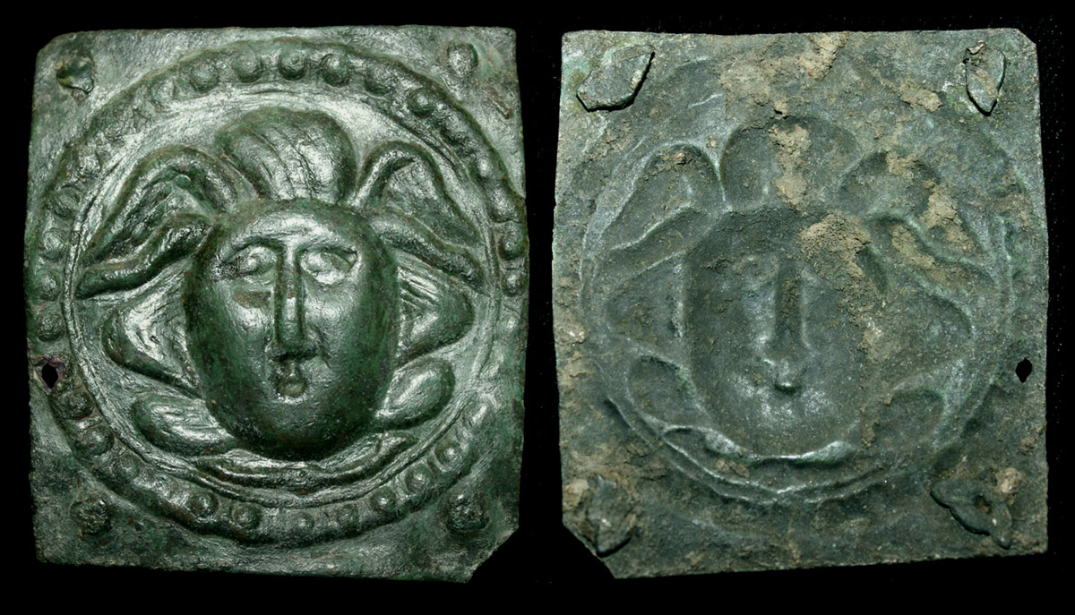Phalera with Gorgon, Very Rare, 2nd Cent.