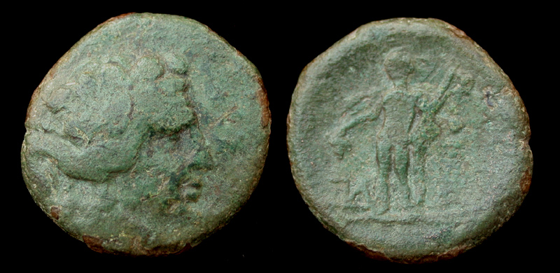 Thrace, Maroneia, Dionysos, c. 2nd-1st Cent BC