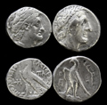 A Pair of Ptolemy AR Tetradrachms