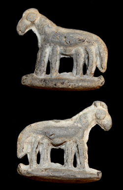 Steppe Nomads, Griffin Amulet, c. 8th-13th Cent AD