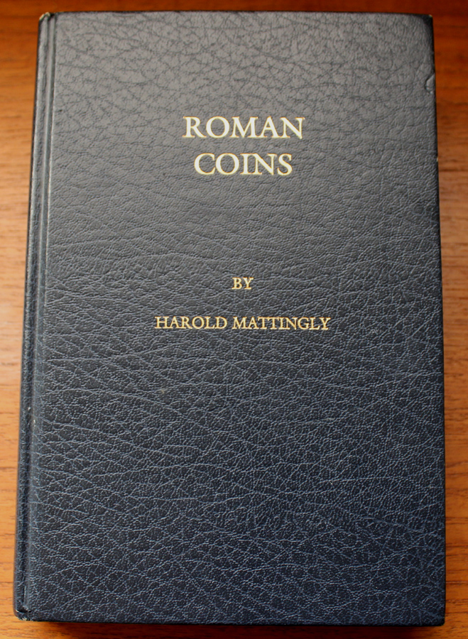 Roman Coins written by Harold Mattingly, Hard Back
