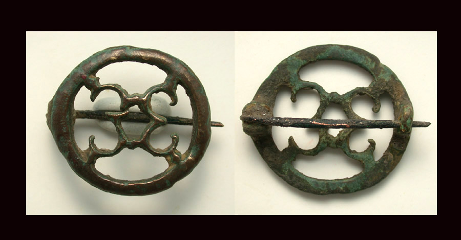 Brooch, Openwork, c. 2nd 3rd Cent AD