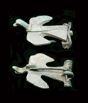 Brooch, Zoomorphic Bird, 2nd Cent AD