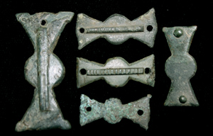 Belt Mount, Propeller-type, 5-Pack, ca. 4th Cent.