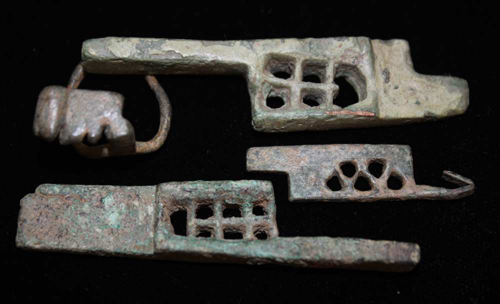 Key and Lock Parts, c. 1st-3rd Cent