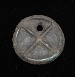 Bronze Age Celtic Disk/Wheel Money, c. 10th-3rd Cent BC