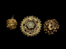 Dubrovnik Gold-gilt Jewelry Ensemble, c.15th-17th Cent Rare!