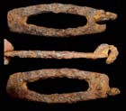 Fire-Striker, Iron, Conmector Loop, c. 3rd-4th Cent.