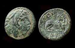Macedon, King Kassander, Lion Reverse