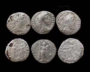 Commodus Denarius 3-pack