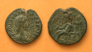 King Rheskuporis II, Aphrodite enthroned, c. 211-227 AD