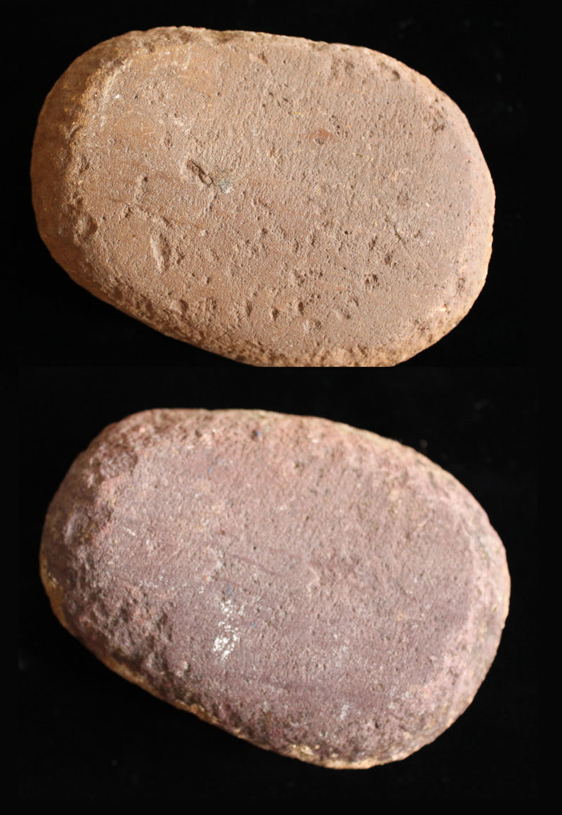Mano grinding stone, Four Corners found