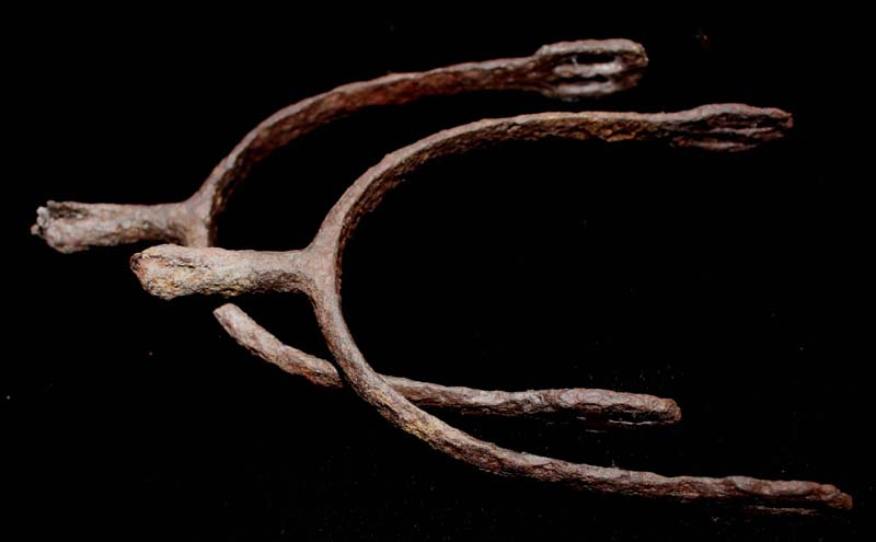 Iron Spurs, Duo, 15th-17th Cent
