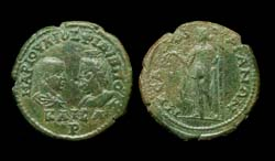 Thrace, Mesembria, Philip II and Serapis, Demeter reverse