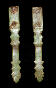 Strap End, Narrow, Leaf-shaped, c. 4th Cent.