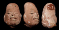 Maya Tribute Terracotta Olmec Head