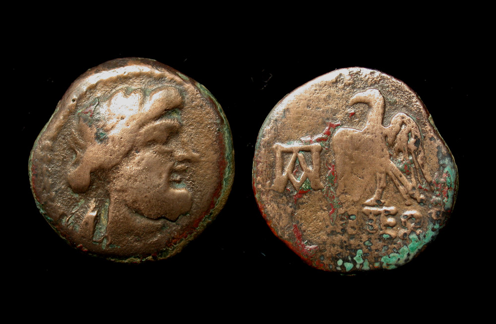 Panticapaeum, Apollo and Eagle, ca. 250-200 BC