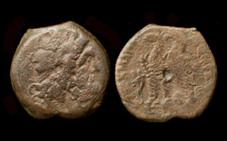 PTOLEMAIC KINGS of EGYPT Ptolemy VI & Ptolemy VIII Joint Reign 170-164 BC.