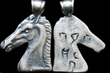 Greek 'Head of Pegasus' Silver Pendant