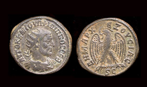 Syria, Philip I, Billon tetradrachm, Seleucis and Pieria
