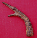 Hair Pin, Zoomorphic, Dragon, c. 1st-3rd Cent.