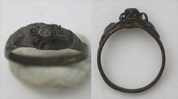Ring, Medieval, Ladies with Wire-work, 14th-16th Cent.