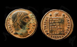 Constantine I, Campgate, Antioch Mint