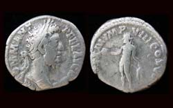 Commodus Denarius, Genius
