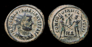 Diocletian, Radiate, Concordia, Heraclea Mint