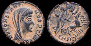 Constantine I, Memorial issue, Heraclea