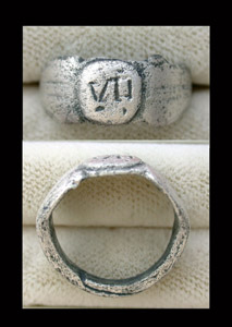 Ring, Roman, Men's, Legio VII Claudia